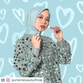 Review Purnama Beauty (Lip Cream) Warna Soft Cocok Untuk Daily