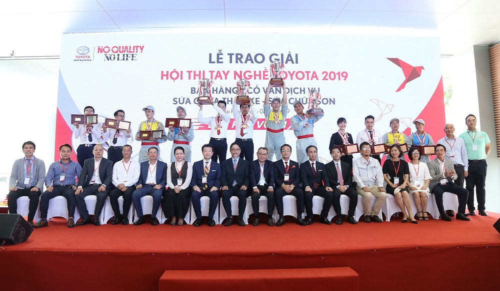 Vòng chung kết Hội thi tay nghề Toyota 2019