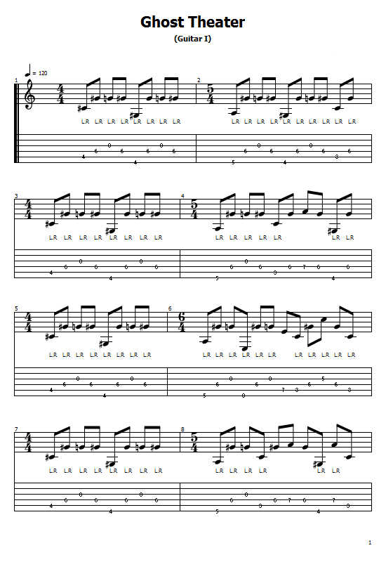 Ghost Theater Tabs Guardian Of the Blind. How To Play Ghost Theater On Guitar/ Free Tabs / Ghost Theater Sheet Music. Guardian Of the Blind - Ghost Theater