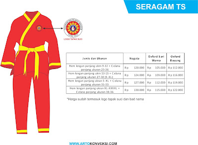 paket seragam sekolah