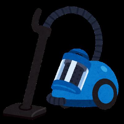 サイクロン掃除機のイラスト