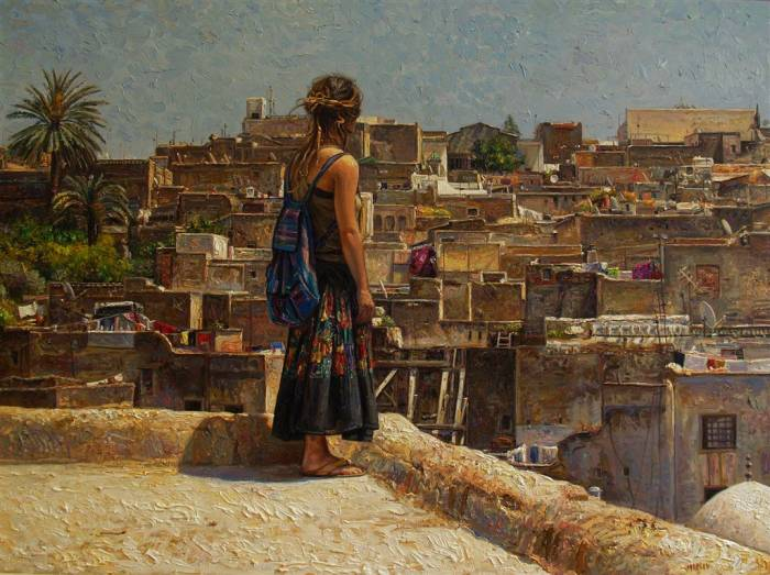 Яркий и прозрачный реализм. Marian Lopez