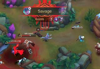 mendapatkan savage di mobile legends