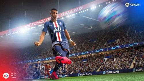 غلاف FIFA 21