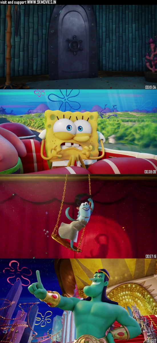 The Spongebob Movie Sponge on The Run 2020 Dual Audio Hindi 480p WEB-DL 280mb