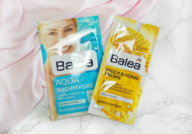 New In #20 Balea Masks