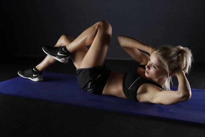 Do this workout at home and you're going to get a flat belly very easy.