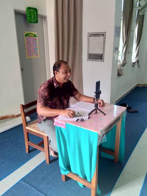 Interview kali pertam secara online daripada Global Teacher Prize masa tahun 2019. Tapi gagal!