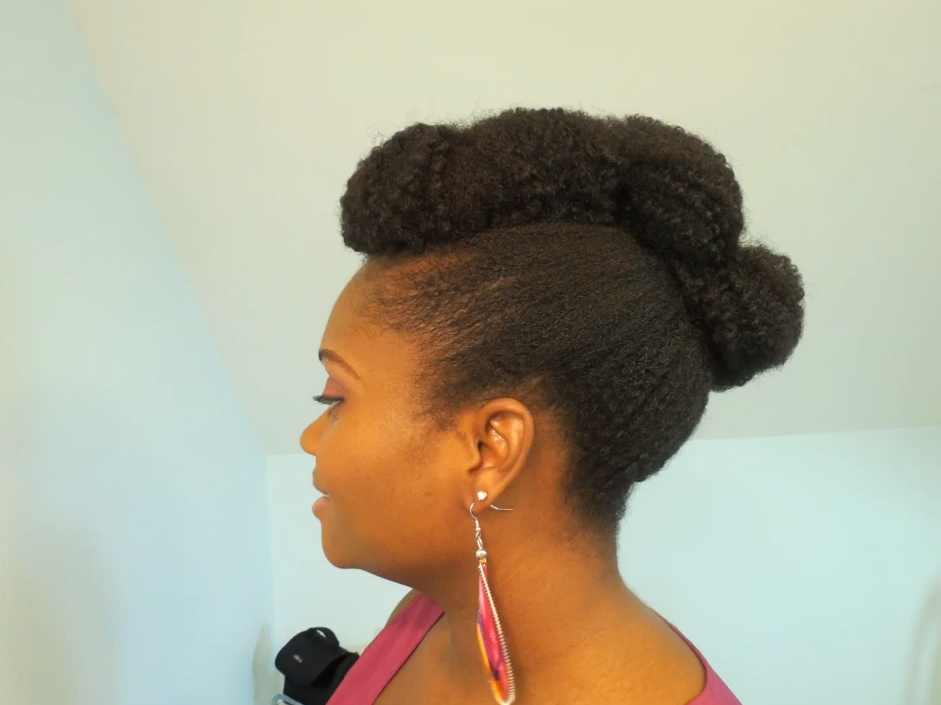 Quick Natural Hair Styles: DIY Natural Hair Care: How To