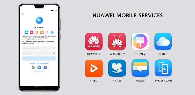 تنزيل Huawei Mobile Services  - تطبيق خدمات Huawei لنظام الاندرويد الاصدار الاخير