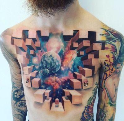 Tatuajes 3D increíbles que debes experimentar