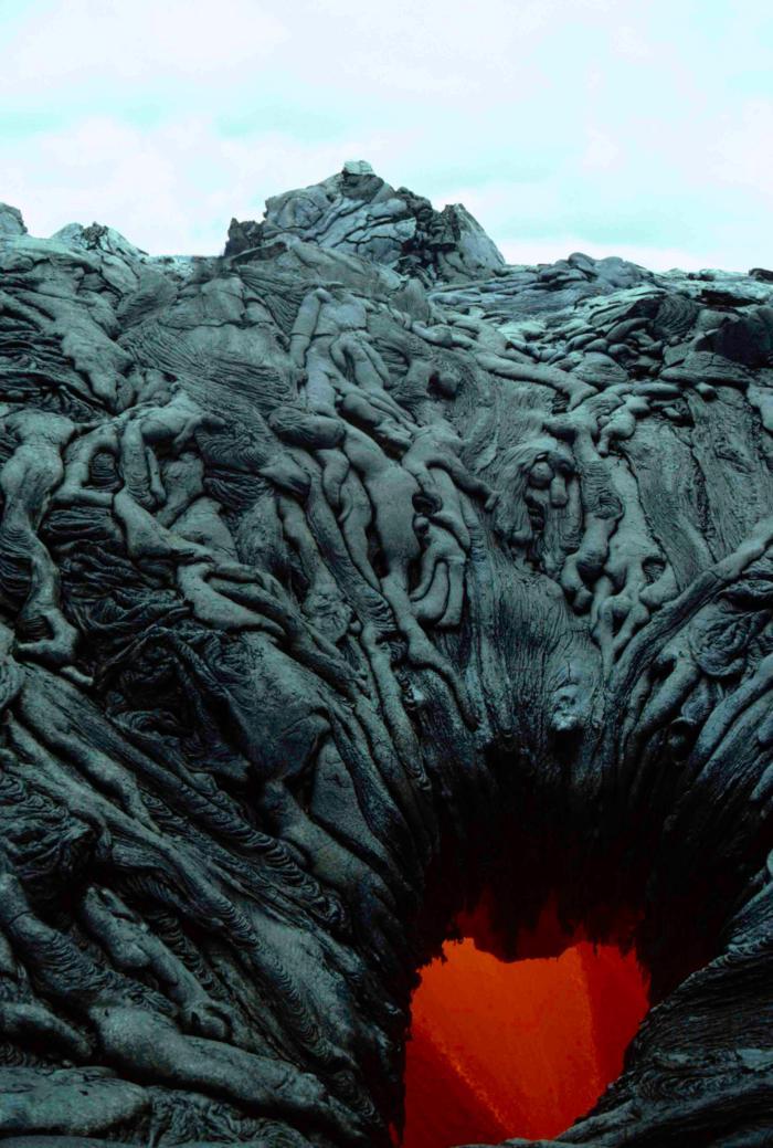 Застывшая лава
