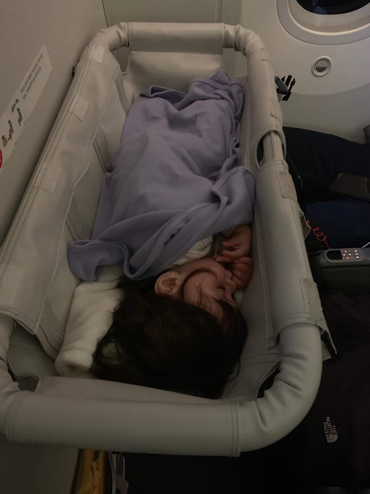 Dormindo no bercinho