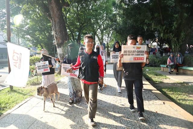 ACT Sumsel Gelar Karnaval Qurban
