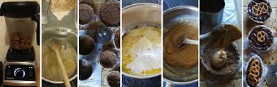 Zubereitung Salzig-süße Törtchen mit Karamell; Zubereitung Schwangere Brezel von Ruth Moschner