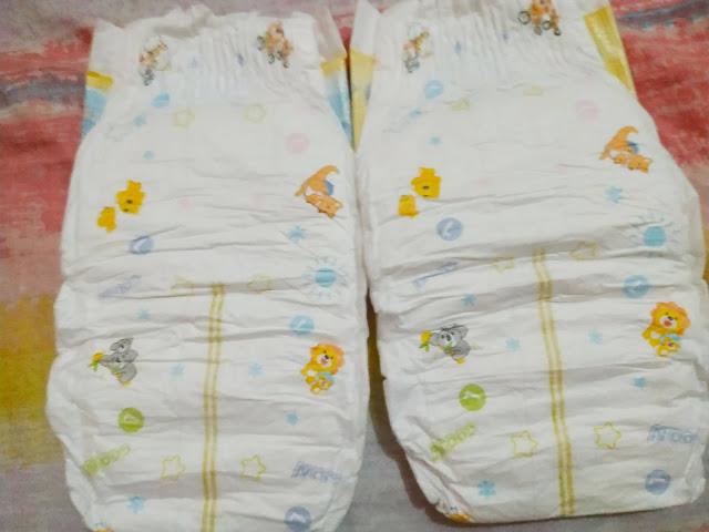 goon tape diaper back print