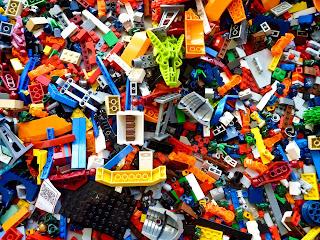 Photo of a pile of Legos by Rick Mason on Unsplash