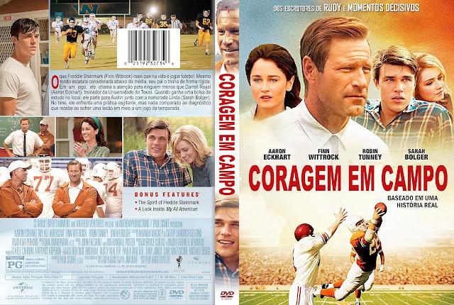Capa DVD Coragem Em Campo