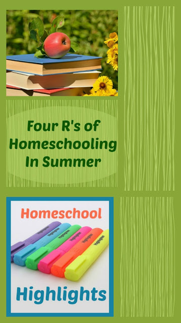 Homeschool Highlights - Homeschooling in Summer on Homeschool Coffee Break @ kympossibleblog.blogspot.com