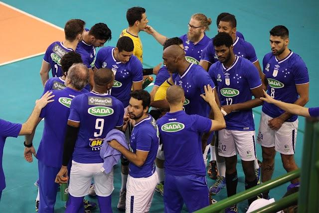 Sada Cruzeiro fará o último jogo em casa, em fevereiro