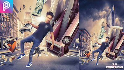 In The Air | PicsArt Editing |Manipulation Editing | picsart manipulation| movie poster