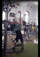 Lần đầu tập gym :)))