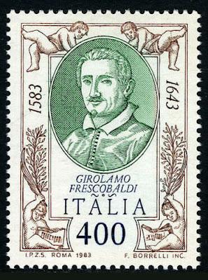Girolamo Frescobaldi, composer, 1983