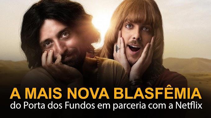 Porta dos Fundos: Romance gay entre Jesus e o diabo é insinuado em nova produção
