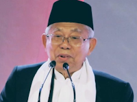 Soal 'Negara Punah', Ma'ruf: Saya-Jokowi Menang, 2024 Indonesia Mandiri