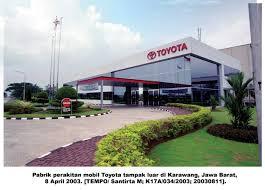 Disnakertrans Untuk PT Toyota Motor Manufacturing Indonesia (PT TMMI)