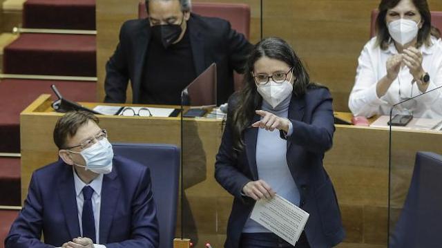 """Oltra reprocha al PP que """"no se han ocupado nunca de la víctima"""" de abusos y que tienen la documentación """"desde 2017"""""""