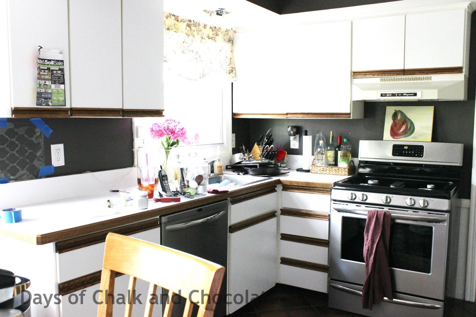 Creative Inexpensive Kitchen Backsplash - audreycouture