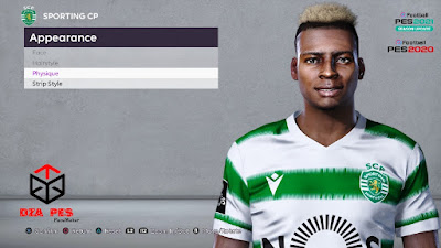 PES 2021 Faces Idriss Doumbia by Dzayer PES