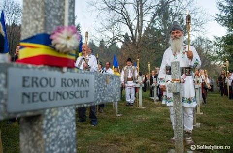 Úzvölgye: Állati csontokról hitték azt a románok, hogy a katonáik maradványai