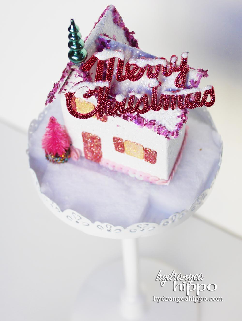 A Kitschy Glittery Ornament! by Jennifer Priest - Tombow USA