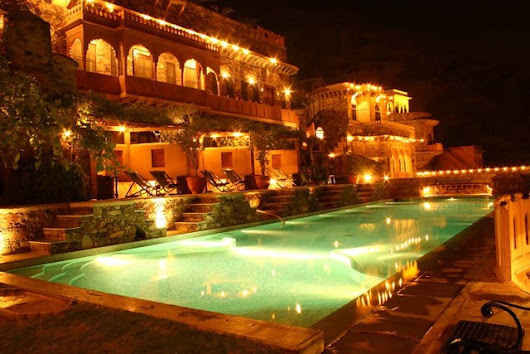 Plan Your Weekend Getaway At The Neemrana Fort-Palace