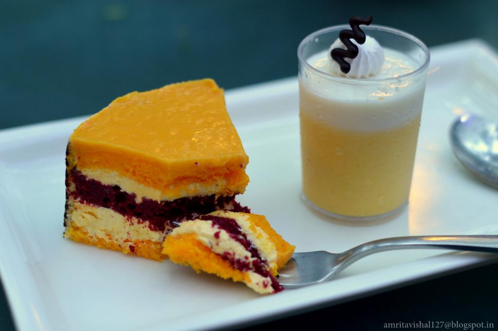 Fruit Lava Cake