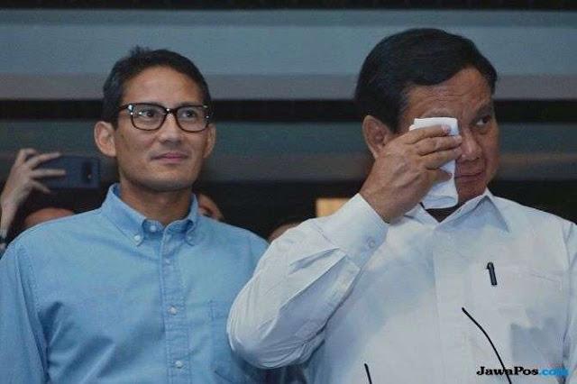 Elektabilitas Tertinggal 20 Persen, LSI Sarankan Ini ke Prabowo-Sandi