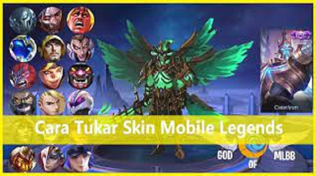 Cara Tukar Skin Mobile Legends