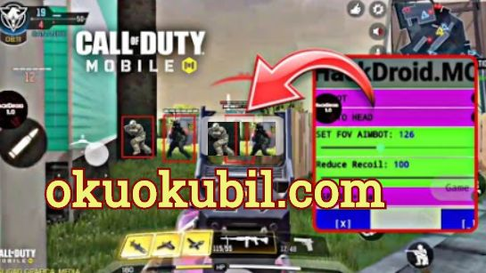 Call of Duty 1.0.12 HackDroıd Mod Menu APK Aim, ESP, No Recoıl Hileli APK İndir 2020