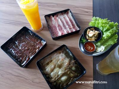 Korean BBQ di Fat Oppa Bandung
