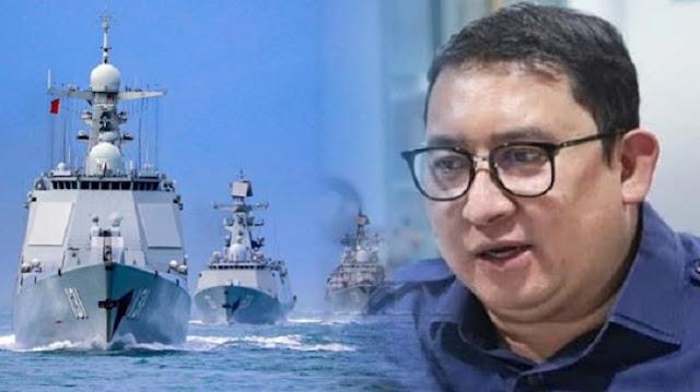 Fadli Zon Ungkap Maksud Jahat China di LCS, Mau Mengambil Wilayah Kedaulatan RI