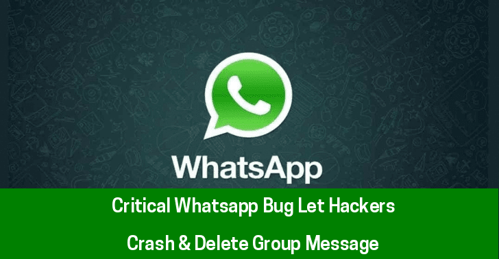 WhatsApp Crash Bug
