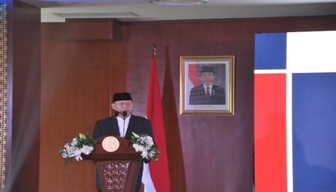 Hadiri Pengukuhan Kepala Perwakilan BI Banten, Gubernur Ajak BI Berperan Aktif Dongkrak Sektor Pariwisata Banten