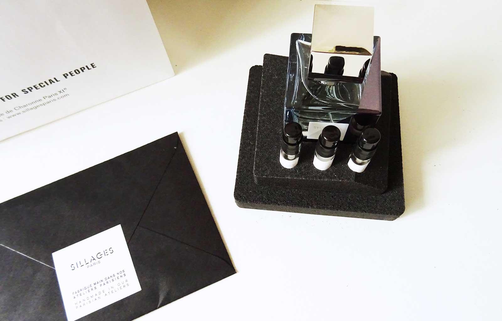 Sillages Paris création parfum personnalisé