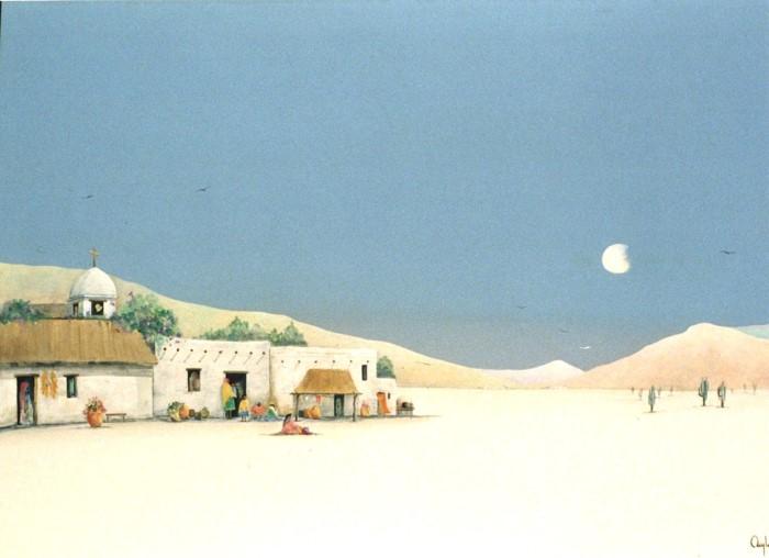 Аргентинский художник. Alejandro Debonis