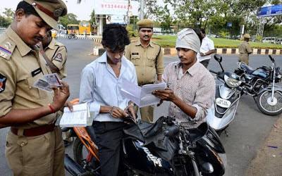 Telangana Traffic Police E-Challan