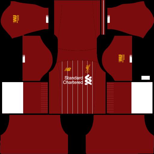 Logo & Kit Dream League Soccer Liverpool 2019-2020