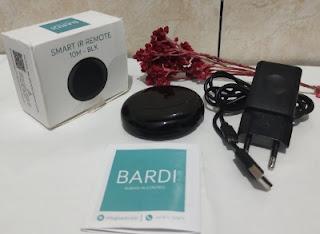 Bardi ir remote pintar untuk semua merk elektronik