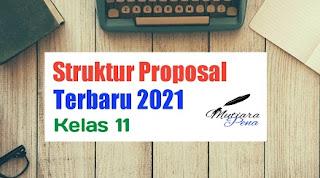 Struktur Proposal Kegiatan Terbaru 2021/2022